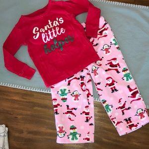 Euc Christmas pajamas